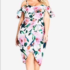 city chic love me do pink floral dress s (16)